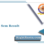 RTU 6th Sem Result 2021 (Out) | Download B.Tech 6 Semester Result @ Esuvidha.info