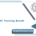 RUHS BSC Nursing Result 2021 (Out) | Download RUHS Entrance Exam Results