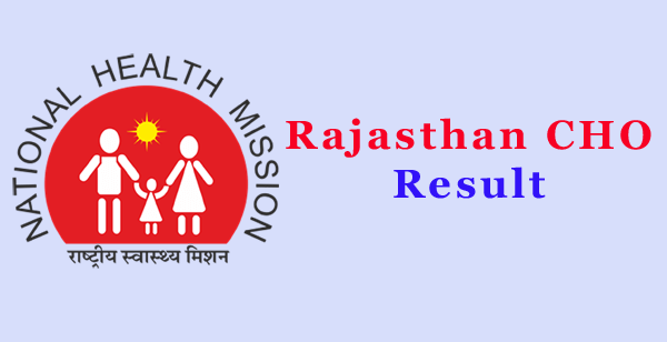 Rajasthan CHO Result