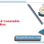 SSB Head Constable Answer Key 2021 (Out) | Download HC Ministerial Answer Sheet