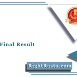 SSC GD Final Result 2018 (Out) | Download Constable Final Merit List