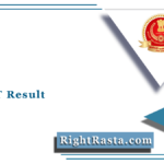 SSC JHT Result 2021 (Out) | Junior Hindi Translator Paper I Cut Off Marks