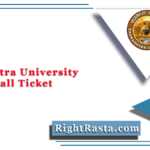 Saurashtra University Sem 3 Hall Ticket 2020 (Out) | SU BA BSC BCOM Admit Card