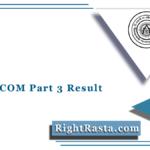 TMBU BCOM Part 3 Result 2021 (Out) | Bhagalpur University B.COM Final Result
