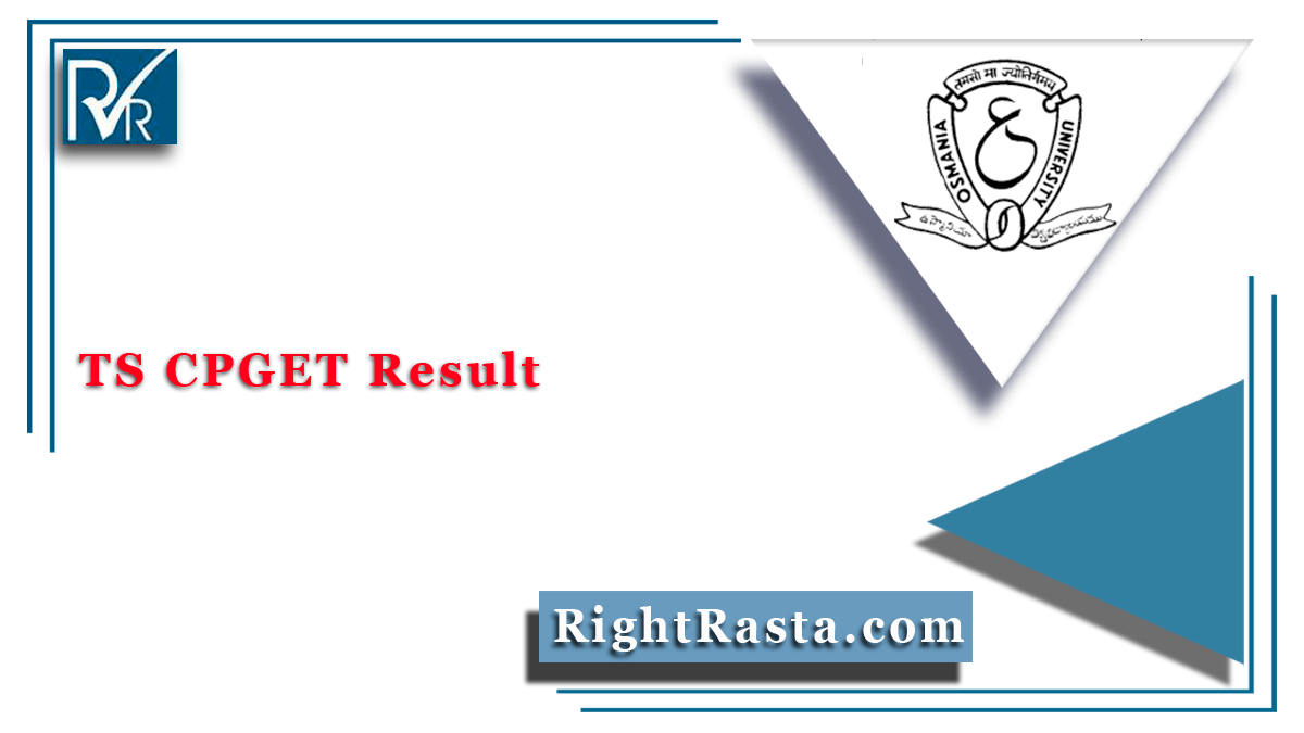 TS CPGET Result