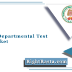 TSPSC Departmental Test Hall Ticket 2021 (Out) | TS November Session Admit Card
