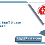 UP NHM Staff Nurse Admit Card 2021 (Out) | Download SAMS UP Hall Ticket