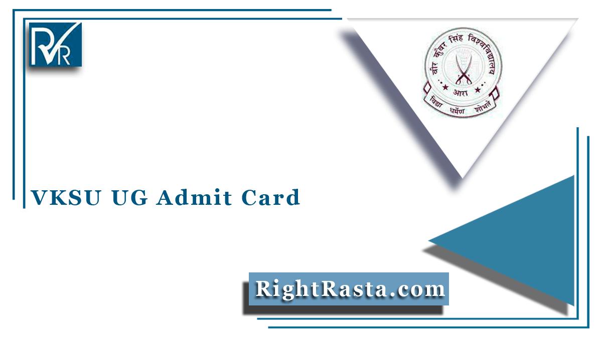 VKSU UG Admit Card