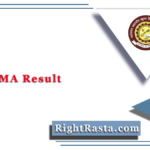 VMOU MA Result 2020 (Out) | Download VMOU PG Exam Score Card