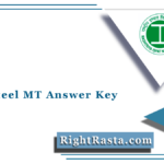 Vizag Steel MT Answer Key 2021 (Out) | RINL Management Trainee Answer Sheet