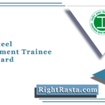 Vizag Steel Management Trainee Admit Card 2021 (Out) | Download MT Hall Ticket