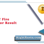 WBPSC Fire Operator Result 2020 (Out) | Download Physical Test Merit List