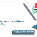 APSC Assistant Architect Answer Key 2021 (Out) | Assam PSC Solution Sheet