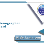 BARC Stenographer Admit Card 2021 (Out) | Download Steno Hall Ticket