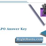 BPSC APO Answer Key 2021 (Out) | Download Bihar APO Answer Sheet PDF