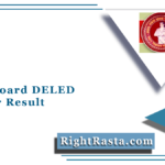 Bihar Board DELED 1st Year Result 2019-21 (Out) | BSEB D.EL.ED Results