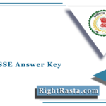 CGPSC SSE Answer Key 2021 (Out) | Download State Service Exam Solution Key