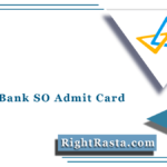 Canara Bank SO Admit Card 2021 (Out) | Download Specialist Officer Hall Ticket
