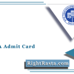 DDA JSA Admit Card 2021 (Out) | Download JSA Typing Test Hall Ticket