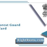 Delhi Forest Guard Admit Card 2021 | Download DOFW Hall Ticket & Exam Date