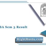 HNGU BA Sem 3 Result 2020 (Out) | Download NGU B.A Semester 3 Results