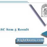 HNGU BSC Sem 5 Result 2020 (Out) | Download NGU B.Sc Semester 5th Result