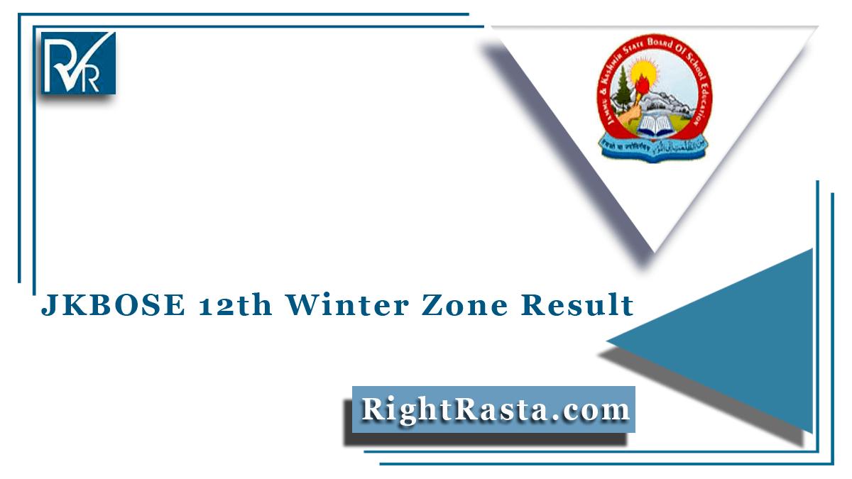 JKBOSE 12th Winter Zone Result