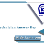 KRCL Technician Answer Key 2021 (Out) | Download Konkan Railway Exam Key