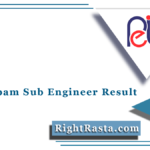 MP Vyapam Sub Engineer Result 2021 (Out) | MPPEB Group 3 Final Result