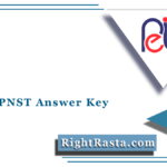 MPPEB PNST Answer Key 2021 (Out) | Download MP Vyapam Pre-Nursing Sheet