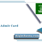MRPL Non Management Cadre Admit Card 2021 (Out) | Download Hall Ticket