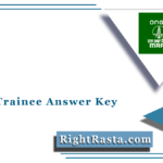 MRPL Trainee Answer Key 2021 (Out) | Non Management Cadre Answer Sheet
