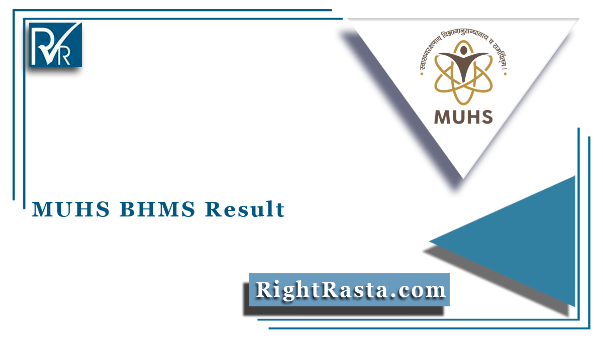 MUHS BHMS Result