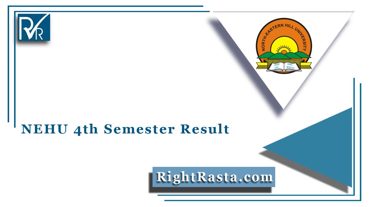 NEHU 4th Semester Result