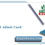 NFL MT Admit Card 2021 (Out) | Download NFL Management Trainee Hall Ticket