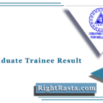 NLC Graduate Trainee Result 2021 (Out) | Download GET Merit List & Cut Off Marks