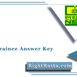 NSCL Trainee Answer Key 2021 (Out) | Download NSC Answer Sheet PDF