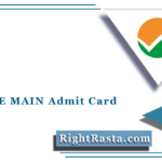 NTA JEE MAIN Admit Card 2021 (Out) | Download Joint Entrance Hall Ticket