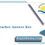 OAVS Teacher Answer Key 2021 (Out) | PGT TGT PET Computer Teacher Answer Sheet