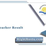 OAVS Teacher Result 2021 | Download PGT TGT PET Computer Teacher Merit