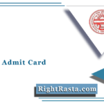 PUCHD Admit Card 2021 (Out) | Panjab University UG/PG SOL Hall Ticket