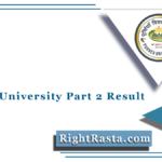 Purnea University Part 2 Result 2021 (Out) | PU BA BSC BCOM 2nd Year Result