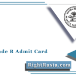 RBI Grade B Admit Card 2021 (Out)   Download RBI Officer CSG Call Letter