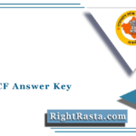 RPSC ACF Answer Key 2021 | Check Rajasthan FRO Exam Solution Updates