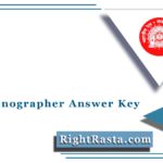 RRB Stenographer Answer Key 2021 (Out) | Download RRB Steno Solution Sheet