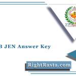 RSMSSB JEN Answer Key 2021 (Out) | Download Rajasthan JE Answer Sheet