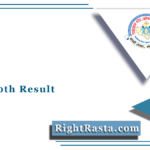 RSOS 10th Result 2021 (Out) | Rajasthan State Open School Class 10 Results