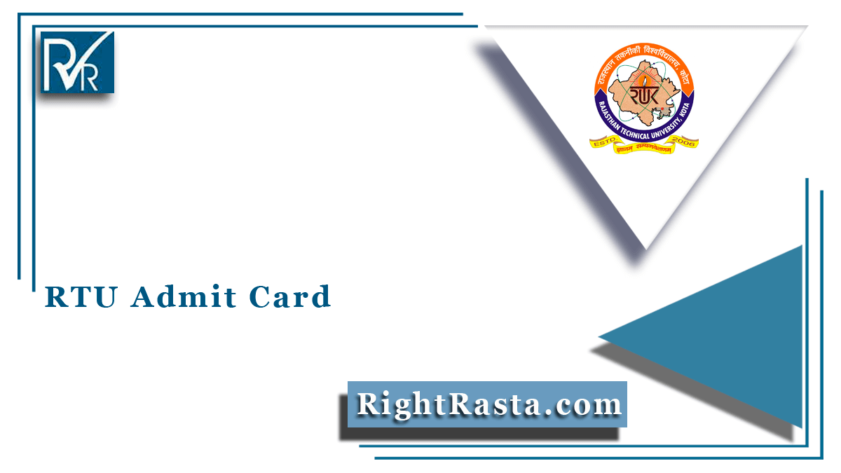 RTU Admit Card