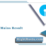 SBI PO Mains Result 2021 (Out) | Download Probationary Officer Merit List