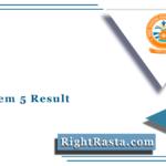 SGGU Sem 5 Result 2020 (Out) | Shri Govind Guru University December Results